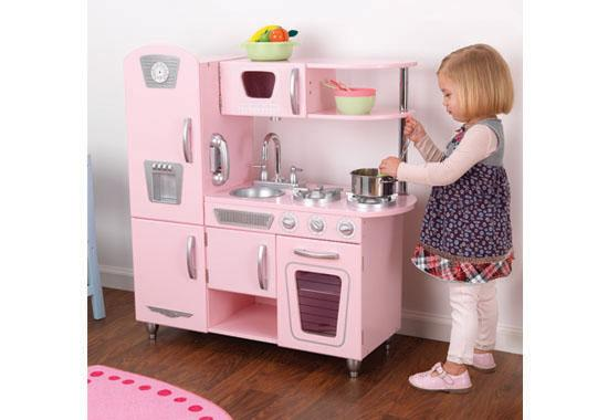 Cocinitas infantiles fabricadas en madera cocinas de juguete para ni os tienda cocinas - Roze keuken fuchsia ...