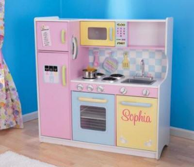 Cocinas de juguete y accesorios de cocinitas for Cocina infantil madera