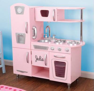 Cocinas de juguete y accesorios de cocinitas - Cocina infantil madera ...
