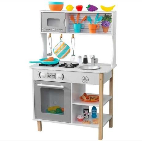 Novedades tienda cocinas infantiles cocinas de madera - Cocina infantil madera ...