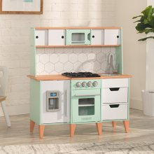 Cocina de juguete Mid-Century Modern con EZ Kraft Assembly™